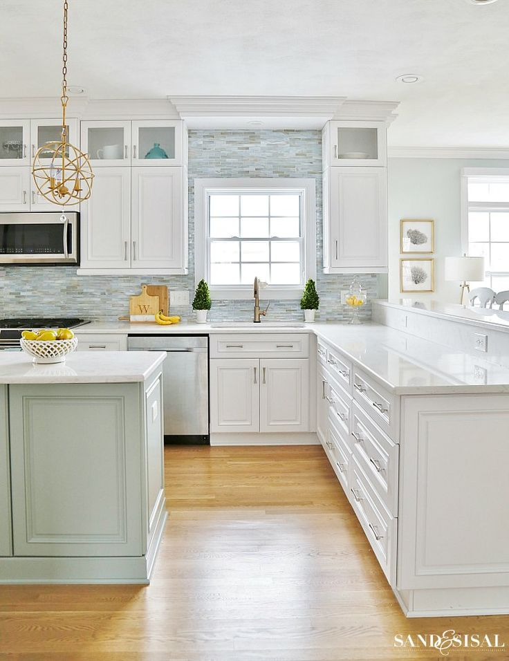 kitchen cabinets redone 17 best ideas about coastal kitchens on 21081