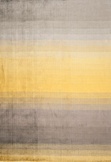 Wovenground | Modern Rugs | Grace Rugs | Yellow | Detail 1