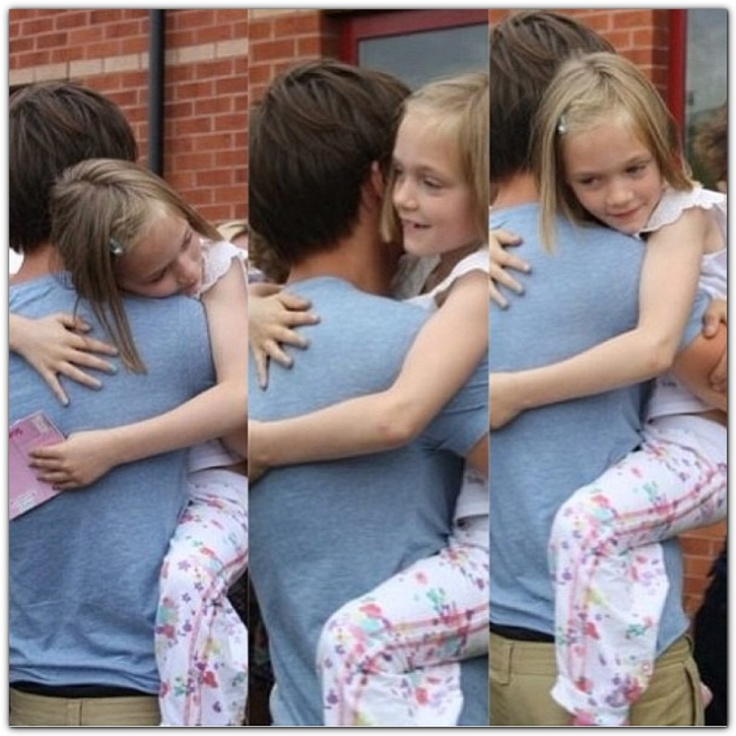 louis and one of the twins