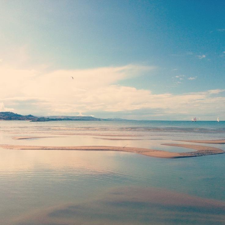 Orizzonte d'Abruzzo ... magnifico, vero? Foto di Alessia Caputo scattata a Pescara