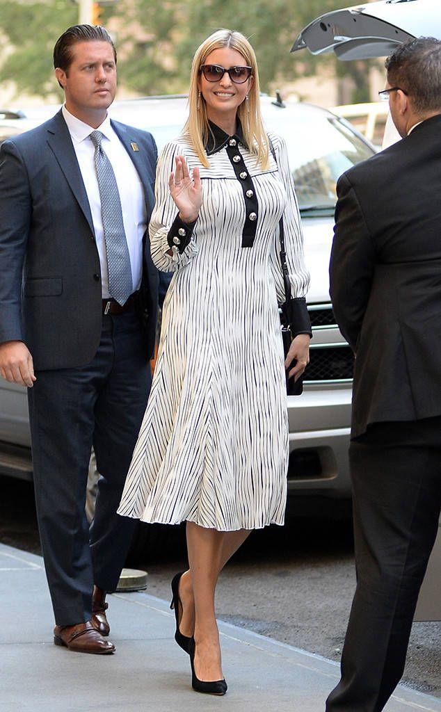 Buttoned Up from Ivanka Trump's Best Looks. Trump DaughterDressIvanka Trump  CollectionStylePumpsCostume ...