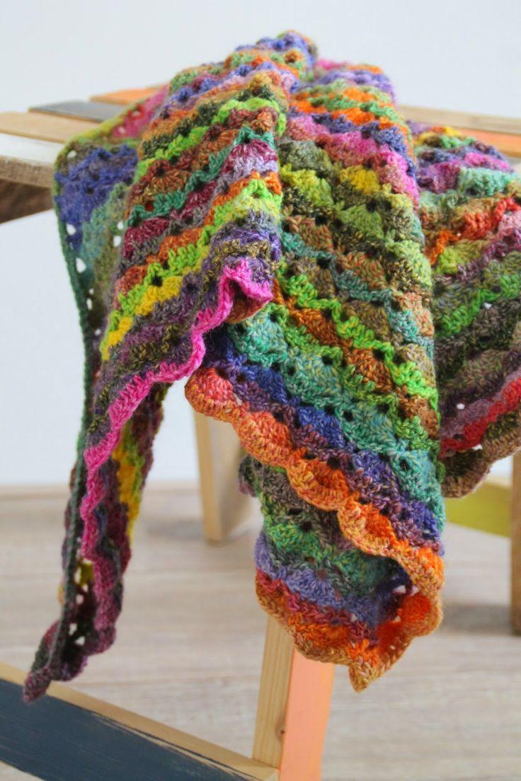 13 best Gehaakte omslagdoeken. Handcrochet shawls images on ...