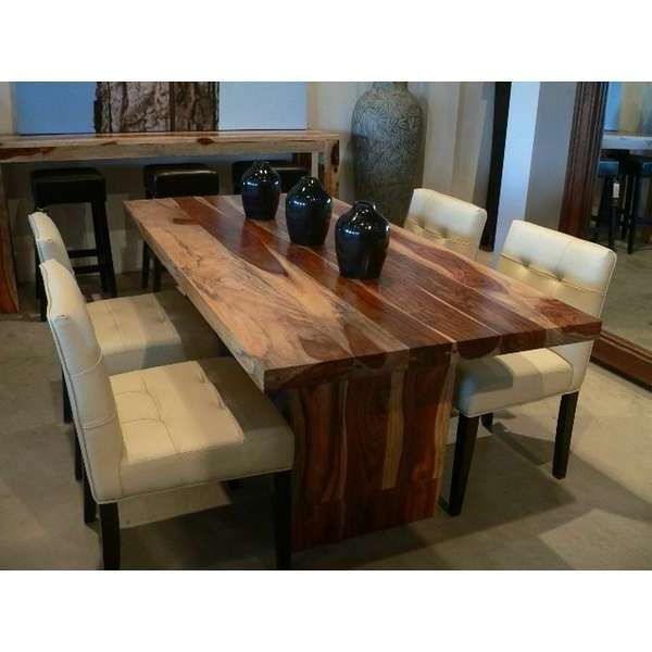 solid wood dining table tops