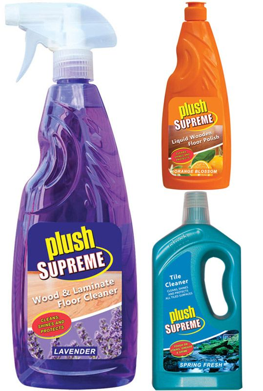 Keep your home sparkling clean with Plush