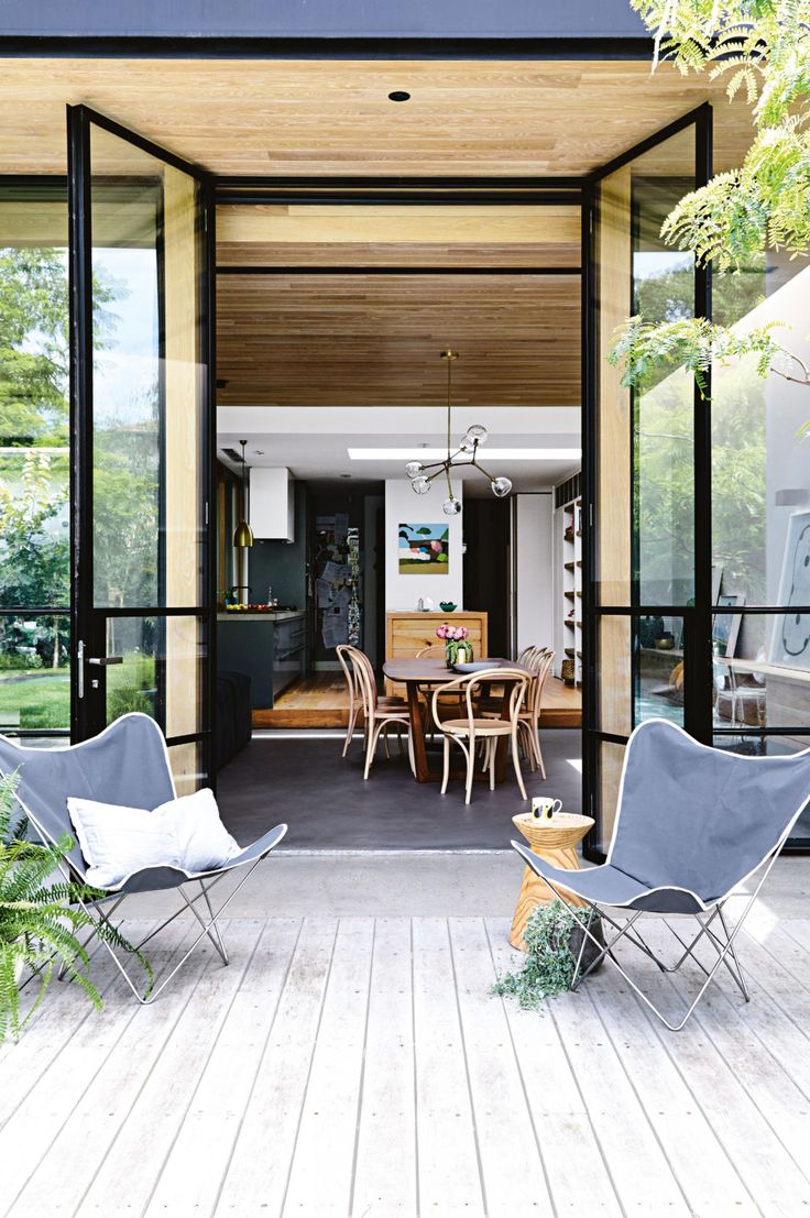72 best images about exteriors on pinterest picket for Outdoor living magazine