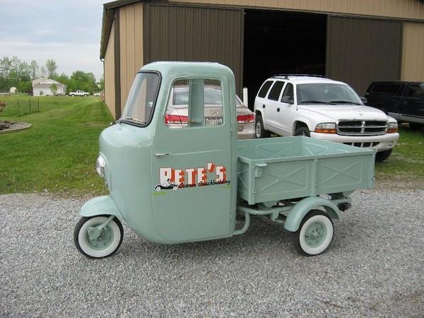 Pete's Lambretta micro-cars