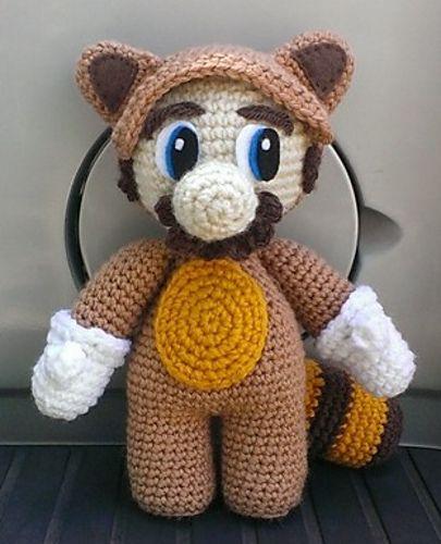 Ravelry: Raccoon Mario pattern by Lupita Suarez