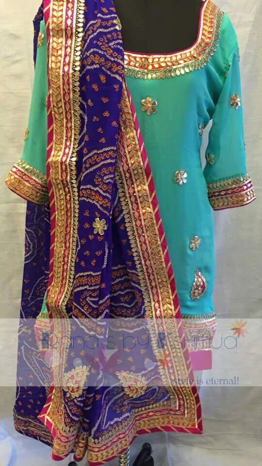 Beautiful Pastels And Bright Rajasthani Colors Tradition