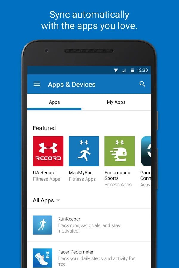 Calorie Counter - MyFitnessPal. Log your exercise..Bar Code scanner for easy food log creation to help with the weight loss / fitness goals. Integrates with other Apps.  Worth a look see !