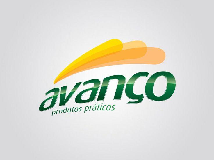 Logotipo Avanço - Produtos Práticos. Criação: Rafael Okubara.