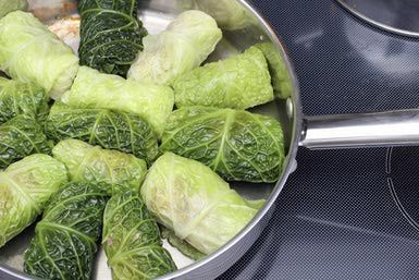 Preparation of Cabbage Rolls - Sergey Kashkin/Photodisc/Getty Images: I think I'll give making these a try!