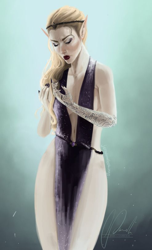 Feyre but she's not blonde