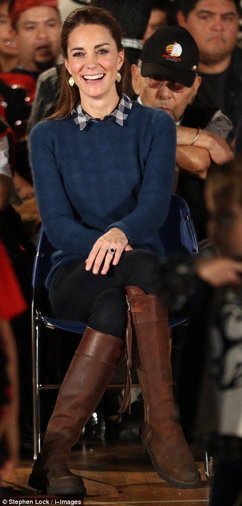 Kate Middleton on Monday...                                                                                                                                                                                 More