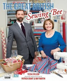 All the patterns from The Great British Sewing Bee book, looks like I'll be able to give it a go!