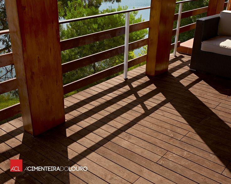 Pavimento de Betão - Madeira -- Concrete Flooring - Madeira