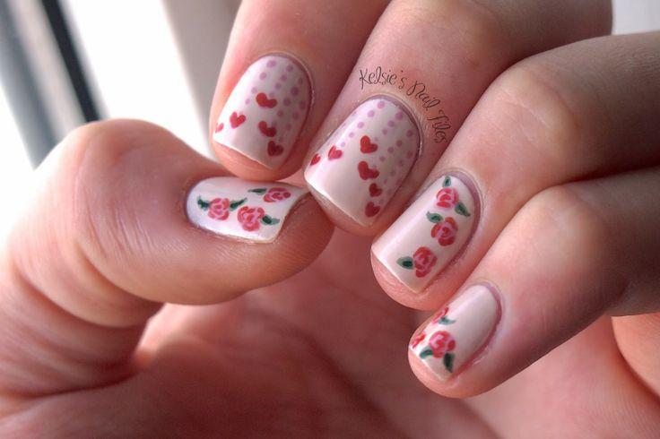 Nailpolis Valentines Nail Art Contest - Kelsies Nail Files