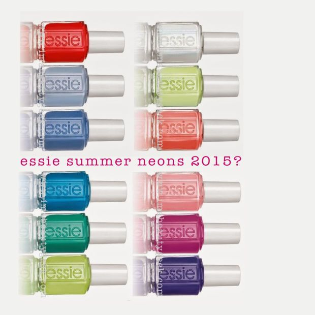 Essie Summer 2015? Essie Neons 2015? Click thru to ©imabeautygeek.com for all the rumors I could find!