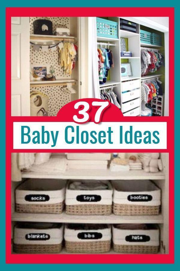 37 Baby Closet Organization Ideas Nursery Closet Organization Ideas We Love Baby Closet Organization Baby Closet Small Closet Organization