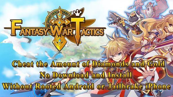 Fantasy War Tactics Cheats
