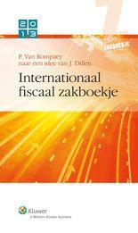 Internationaal Fiscaal zakboekje 2013 -  Van Rompaey, P. -  plaats 365.3 # Internationale fiscaliteit