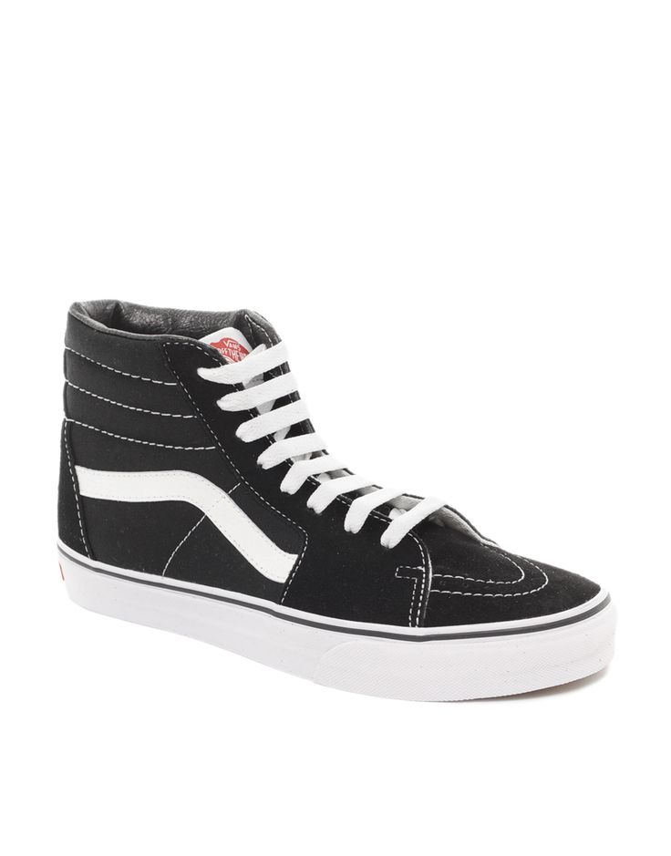 retro trainers vans sk8 old skool black high top. Black Bedroom Furniture Sets. Home Design Ideas