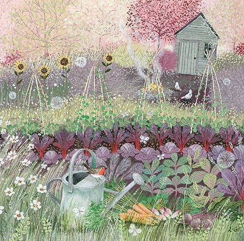 UK ~ Lucy Grossmith ~ Vegetable Patch