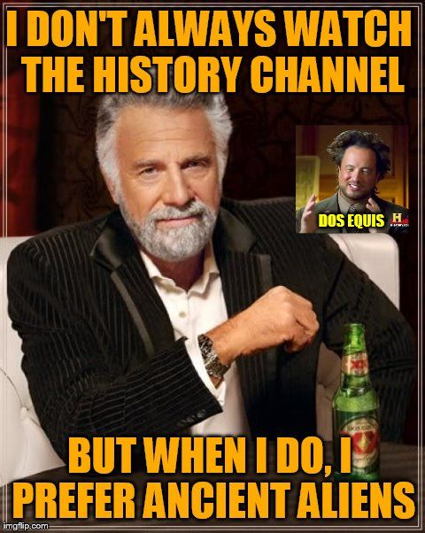 Crossmeming: The Most Interesting Man in the Universe