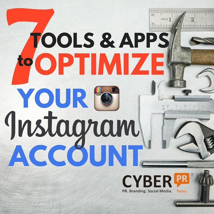 There are all sort of websites and apps out there that will help you get to the next level on Instagram. Cyber PR handpicked our 7 favorites for 2016 for you.
