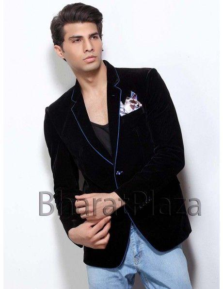 Luxury Bold Look Blazer Item code : TSBL1107  http://www.bharatplaza.com/mens-wear/mens-designer-suits/mens-blazer/luxury-bold-look-blazer-tsbl1107.html