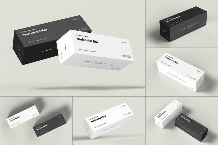 Box Mockup 5x5x15 By Yogurt86 On Envato Elements Box Mockup Mockup Templates Mockup