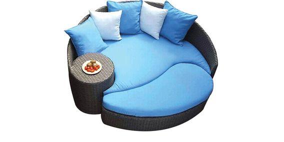 Circular Day Bed by Alcanes