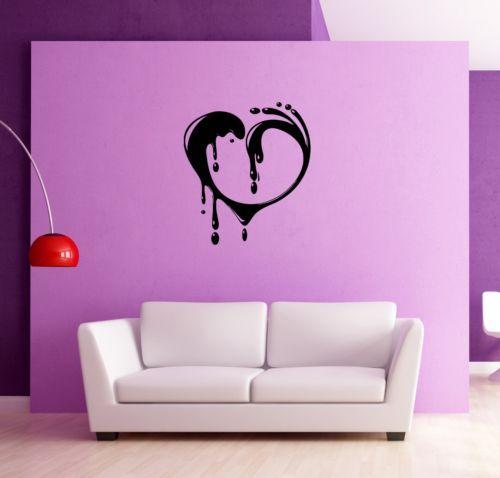 Wall Stickers Vinyl Decal #Heart #Love Romance Modern #Style ig669