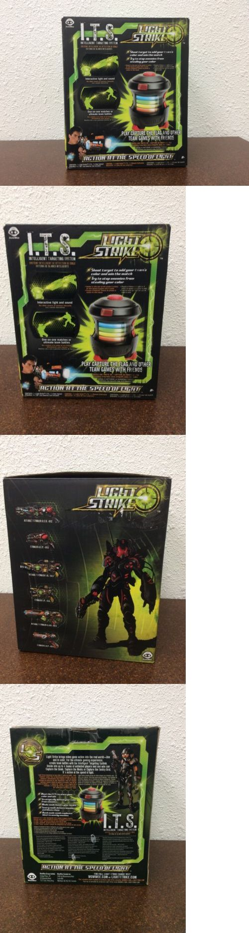 Laser Tag 168245: Wowwee Light Strike Intelligent Targeting System Its -> BUY IT NOW ONLY: $34.99 on eBay!