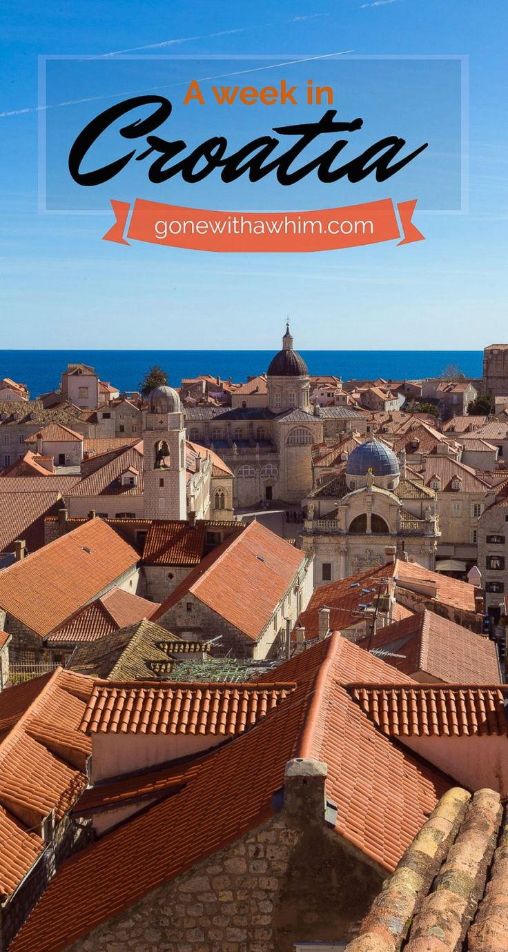 Photos and stories from a week in Croatia // Memories from the Balkans // Dubrovnik, Split, and Zagreb