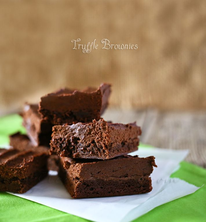 Truffle Brownies | Cooking... my Passion | Pinterest