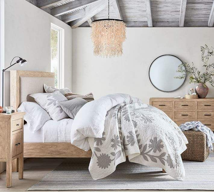pottery barn linwood bed bedroom
