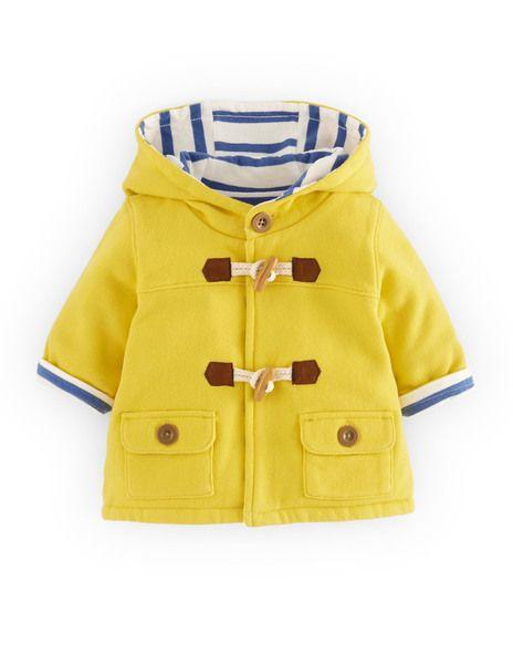 Dufflecoat Baby yellow