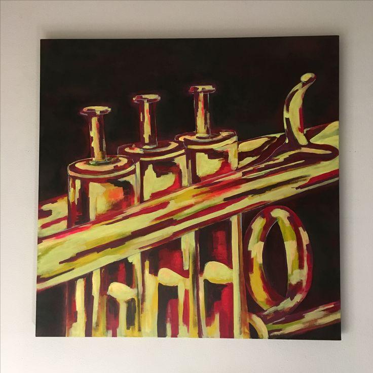 Speciale opdracht Acryl op canvas  80x80cm