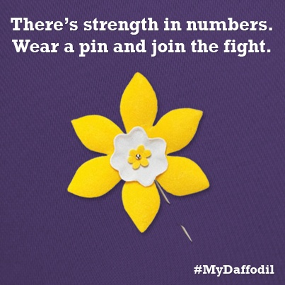 Have you joined the FIGHT for LIFE? #MyDaffodil