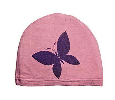 girls: butterfly on light purple