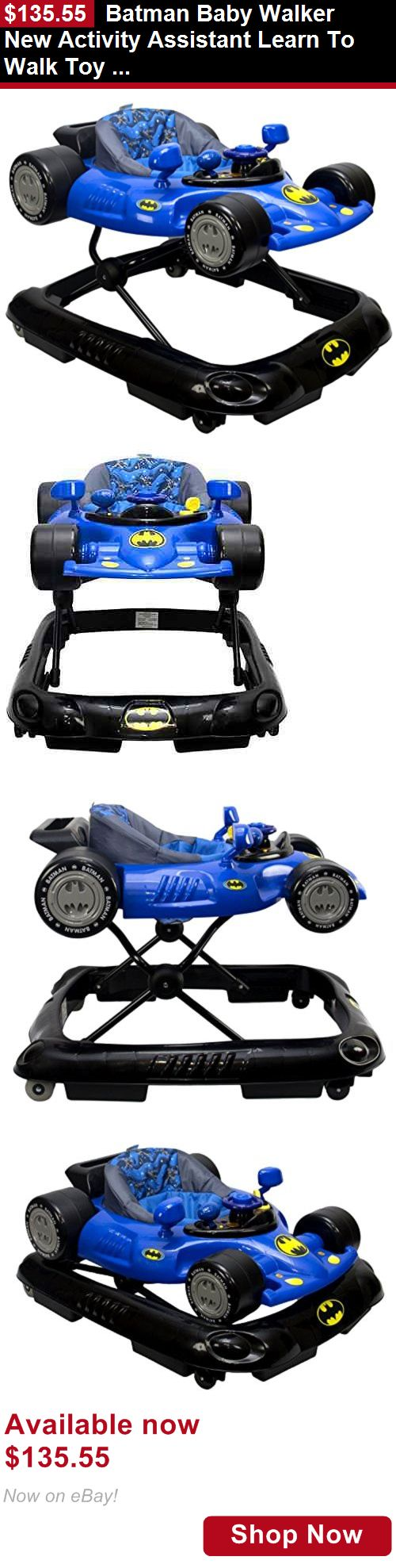 Baby walkers: Batman Baby Walker New Activity Assistant Learn To Walk Toy Walker For Baby New BUY IT NOW ONLY: $135.55