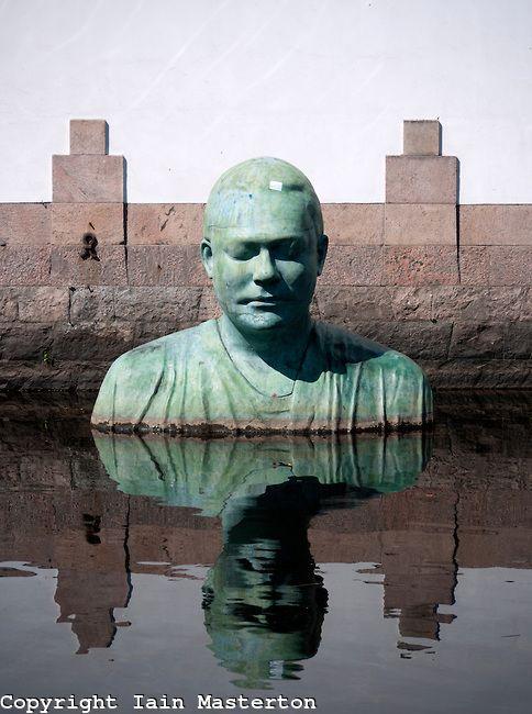 modern sculpture sweden -