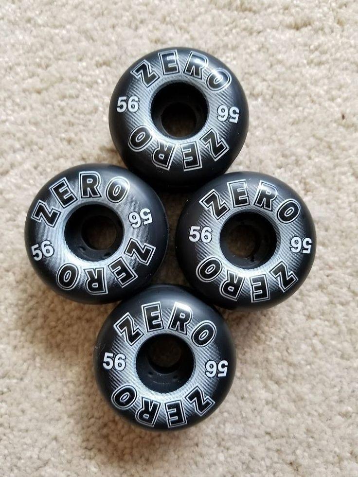 Wheels 23830: Unused Zero Skateboard Wheels 56Mm - Classics -> BUY IT NOW ONLY: $30 on eBay!