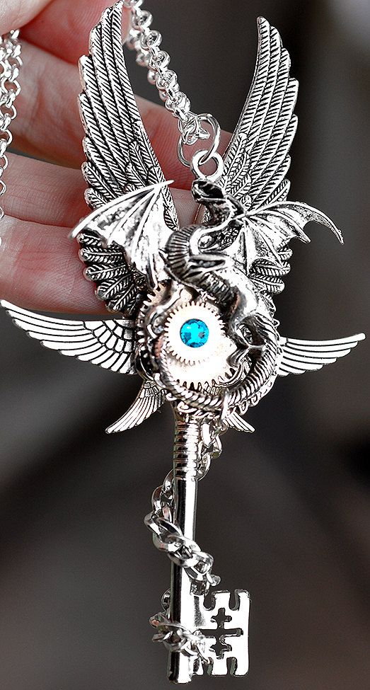 Epic Dragon Key by KeypersCove on Etsy, $45.00 http://www.etsy.com/shop/KeypersCove