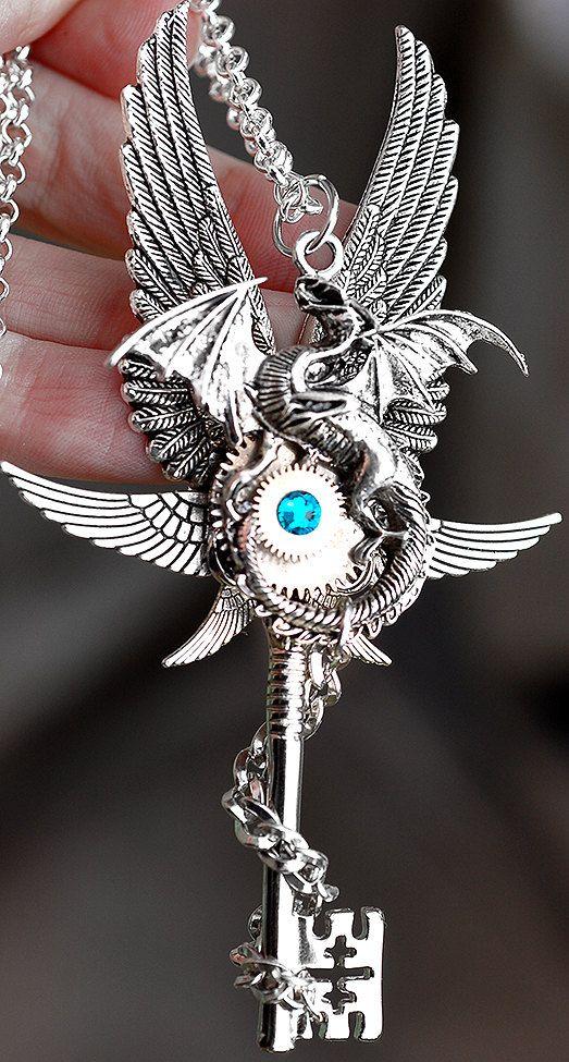 Epic Dragon Key by KeypersCove on Etsy, $45.00 http://www.etsy.com/shop/KeypersCove