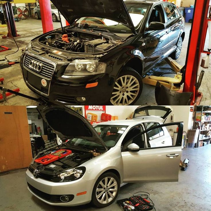 German Autohaus Chattanooga Tennessee European 2006 Audi A3 2012 Volkswagen VW Golf TDI