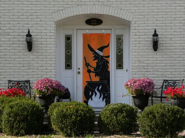 Les 25 meilleures id es de la cat gorie porte d 39 halloween for Idee decoration porte halloween