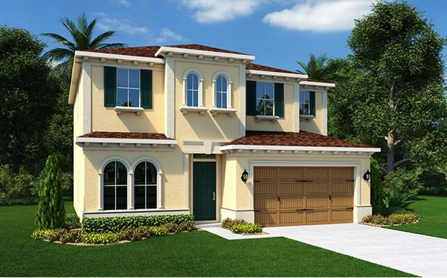 Somerset - Estancia At Wiregrass - Marbella And Sienna - Wesley Chapel Home for Sale | Standard Pacific Homes