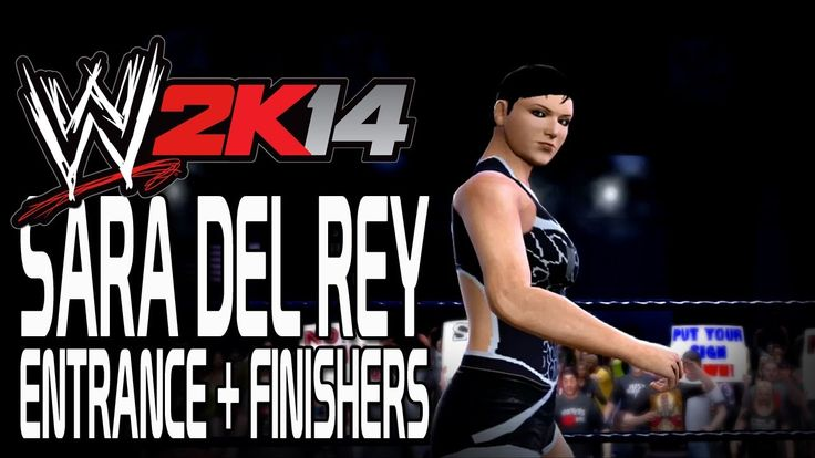 WWE 2K14 - Sara Del Rey Entrance + Finishers