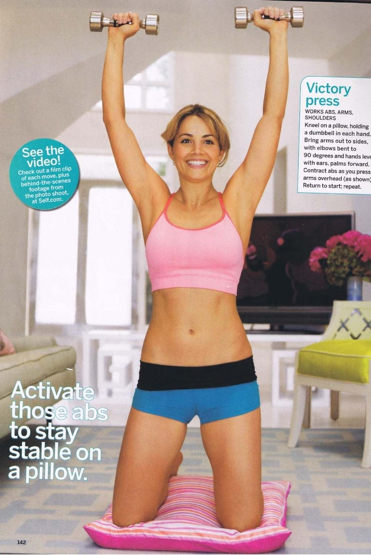 Erica Durance exercise